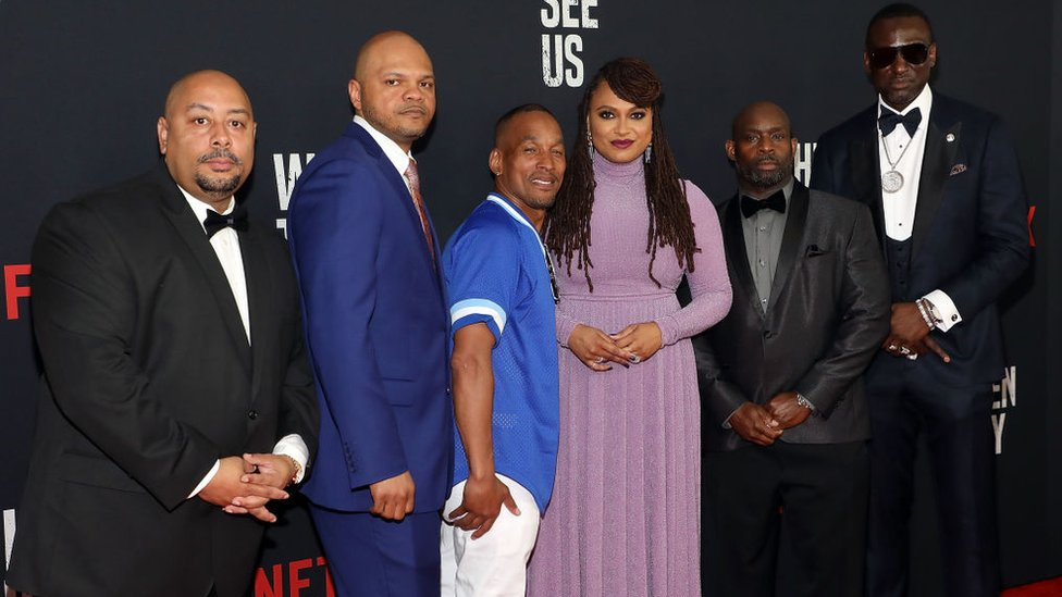 The Central Park Five with series director Ava DuVernay