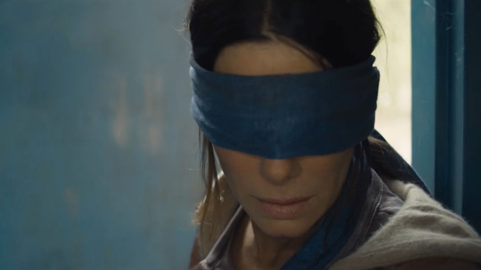 'My sleepless nights over Sandra Bullock's blindfold'