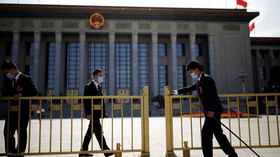 人大常委會的會議議程包括討論香港推遲立法會選舉後的安排。