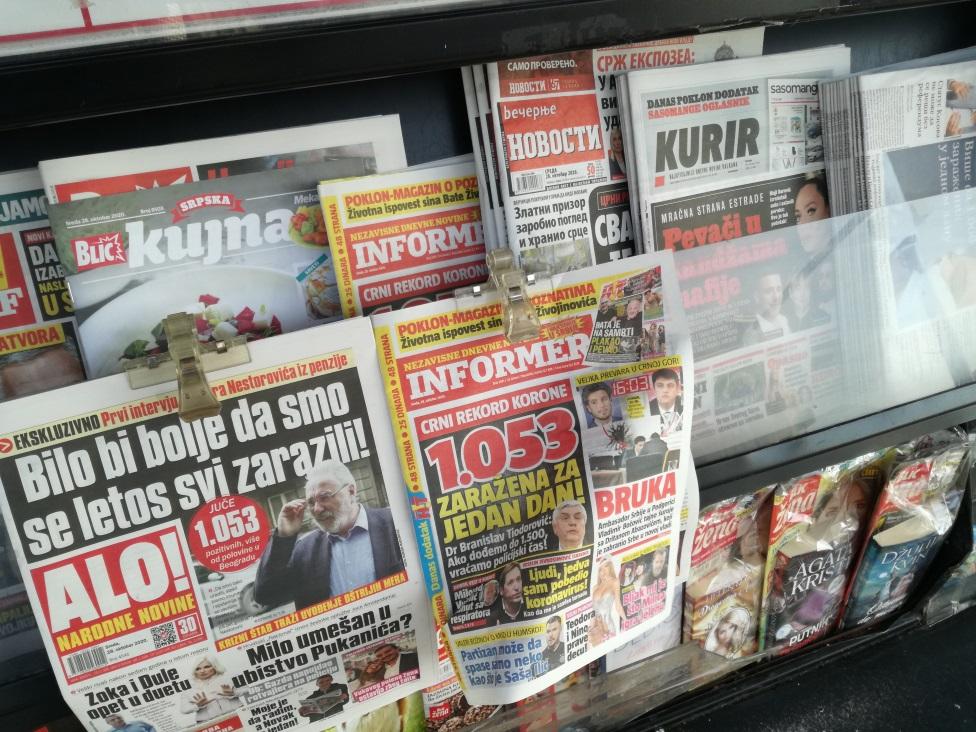 štampa, novine, dnevne novine