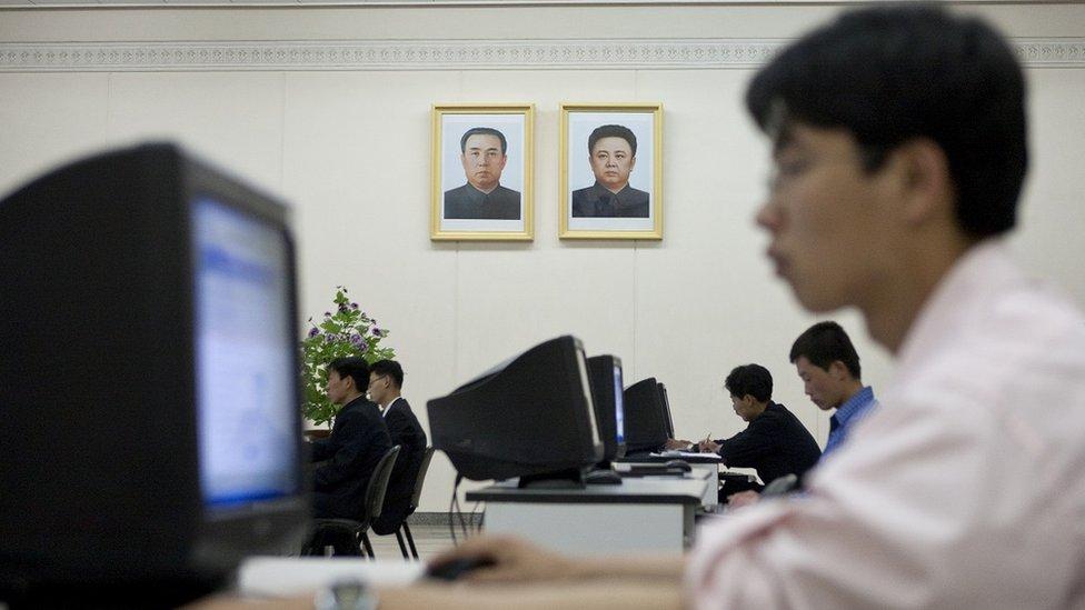 severnokorejci u internet sali