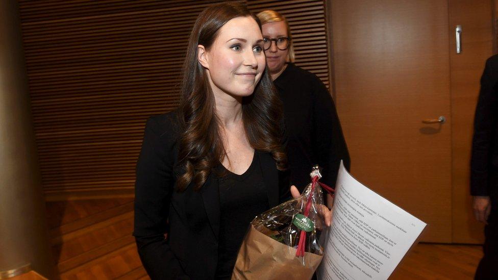 芬蘭女總理桑娜·馬林(Sanna Marin)
