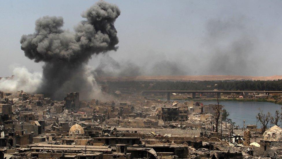 Mosul 2017.
