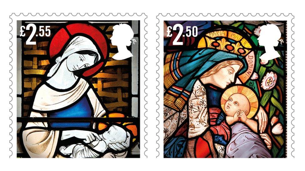 Nativity Christmas 2020 Royal Mail unveils Christmas 2020 nativity stamps   BBC News