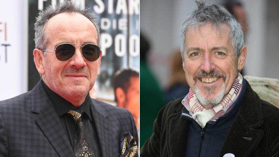Elvis Costello, Griff Rhys Jones