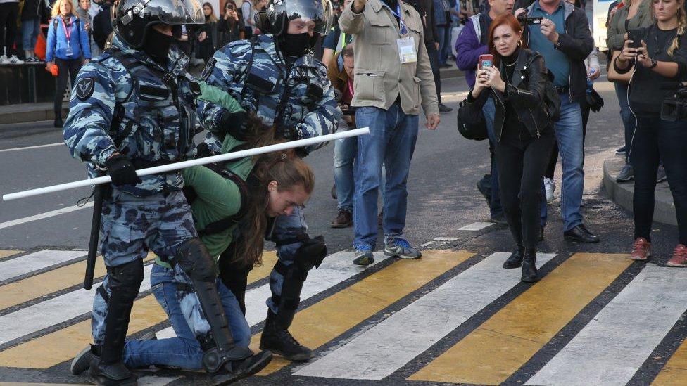 rusia protestas