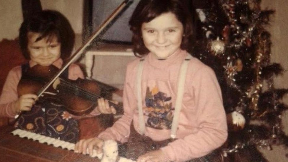 Maja Petrusevska de niña