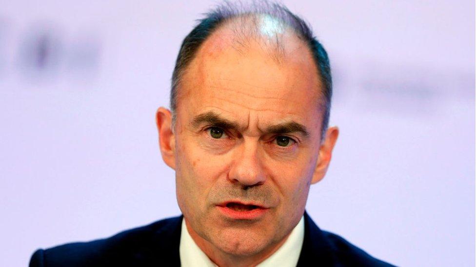 Rolls-Royce chief executive Warren East
