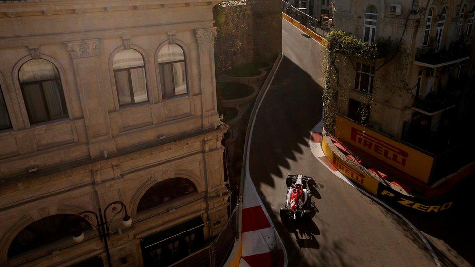 Baku je i domaćin trke Formule 1