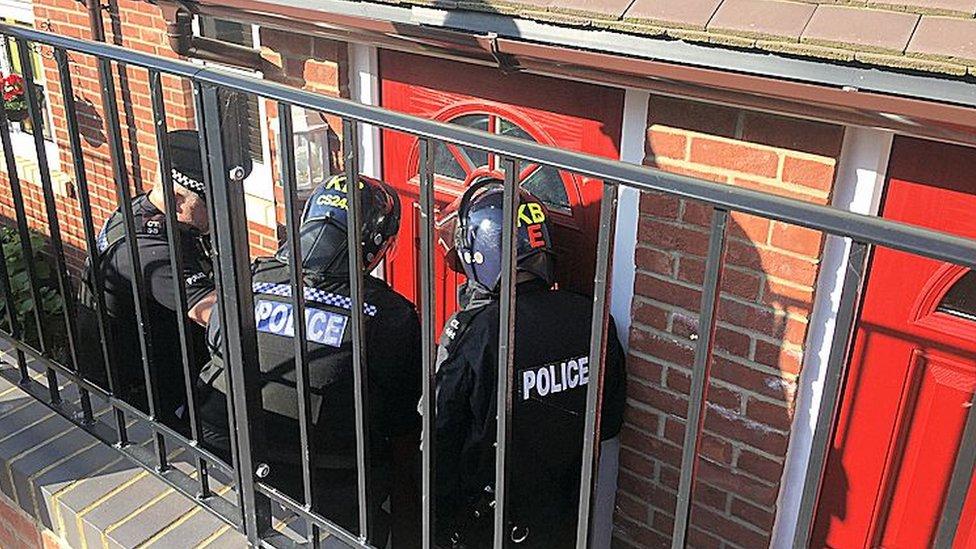 Five arrests in East Sussex modern slavery probe