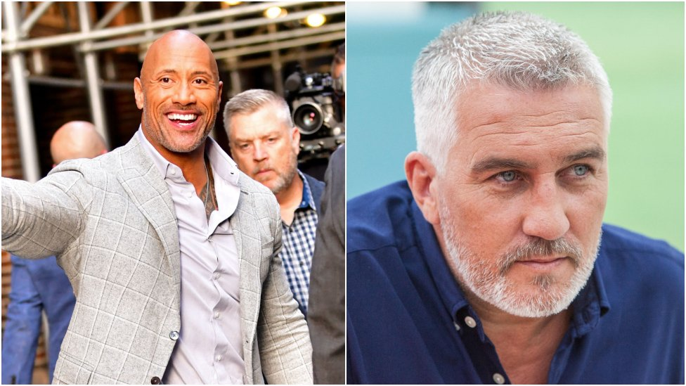 The Rock and Paul Hollywood