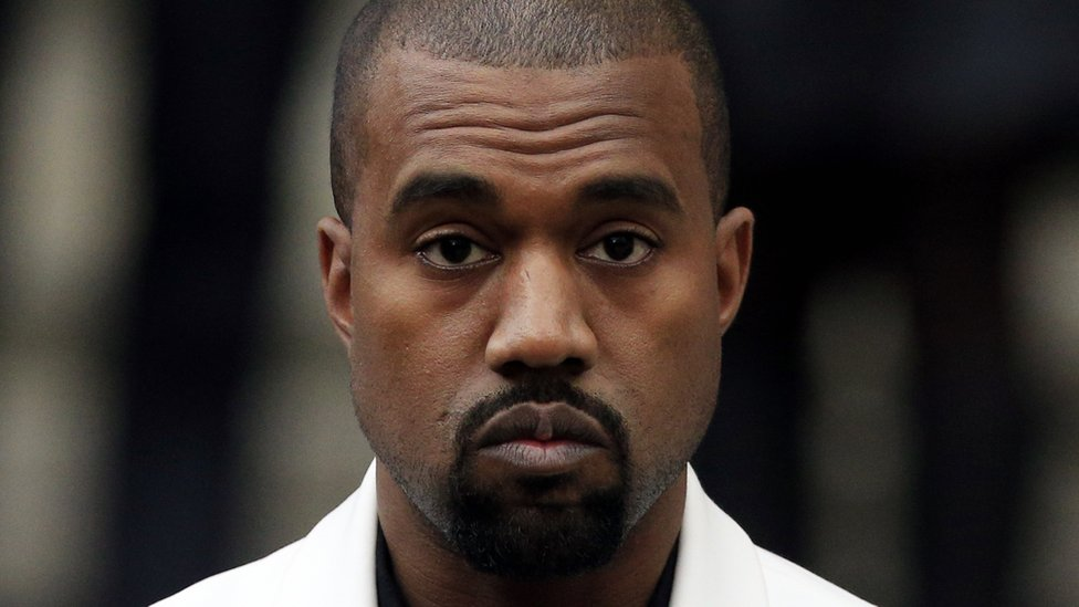 US rapper Kanye West (file photo)