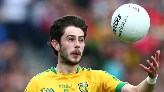 Ryan McHugh helped Donegal earn a comprehensive 2-14 to 1-7 win over Cork at Ballyshannon