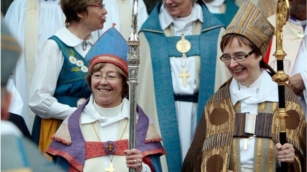 Pastoras de la Iglesia de Suecia