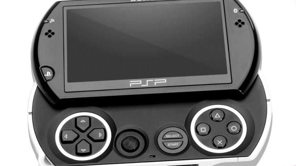 Sony's portable PSP Go