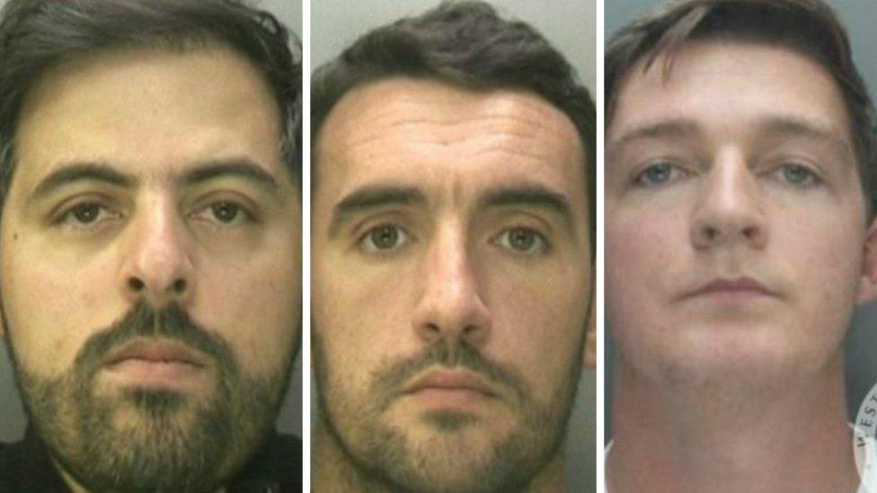 Birmingham grenade attack: Businessman and 'hitmen' jailed