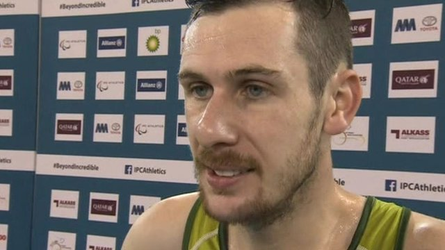 Michael McKillop thrilled after latest world title triumph