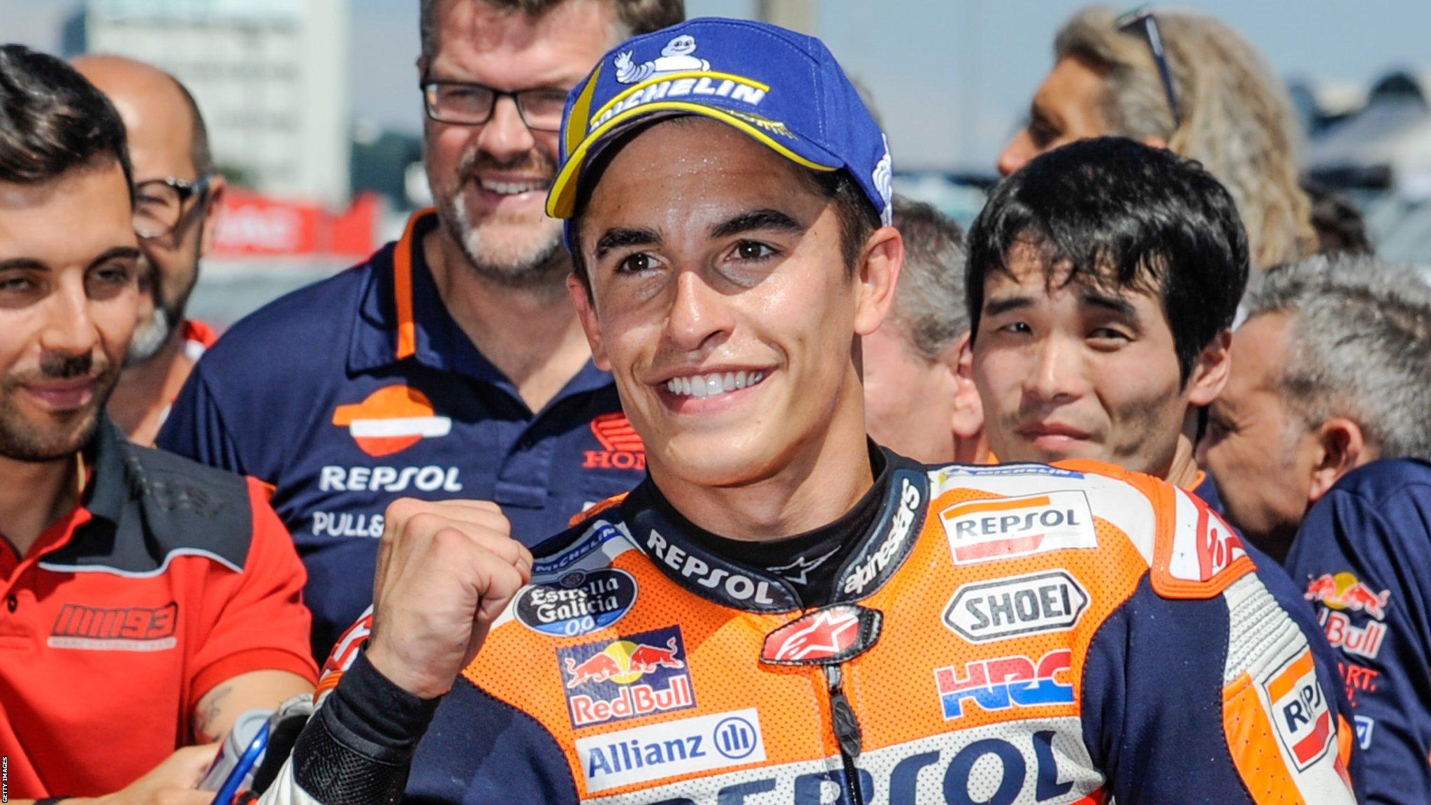 MotoGP: Marc Marquez wins German Grand Prix to extend championship lead