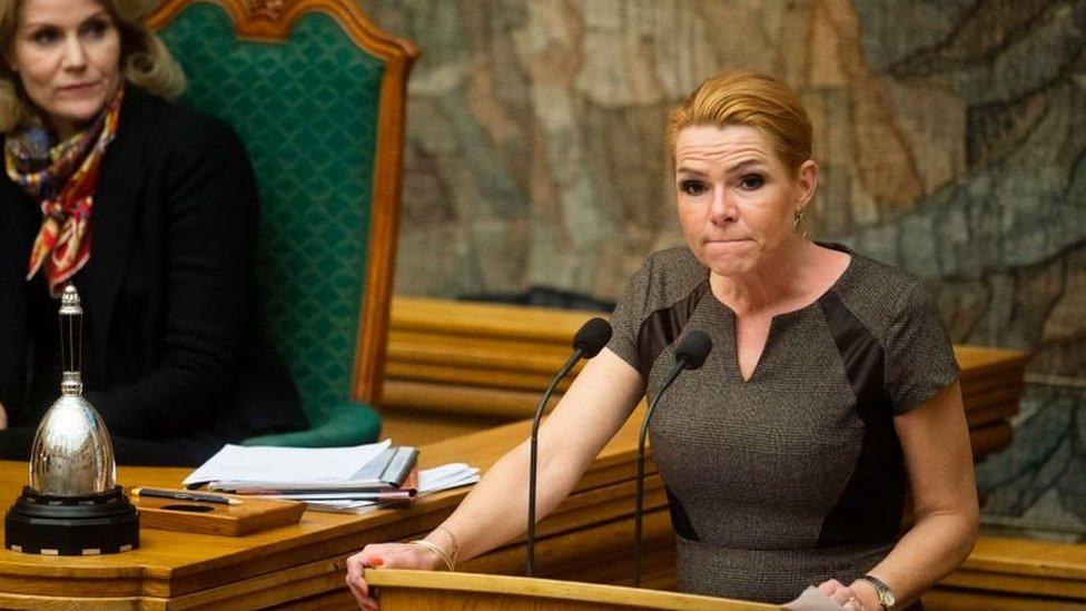 وزير ة الهجرة والإدماج الدنماركية إنغر ستويبرغ