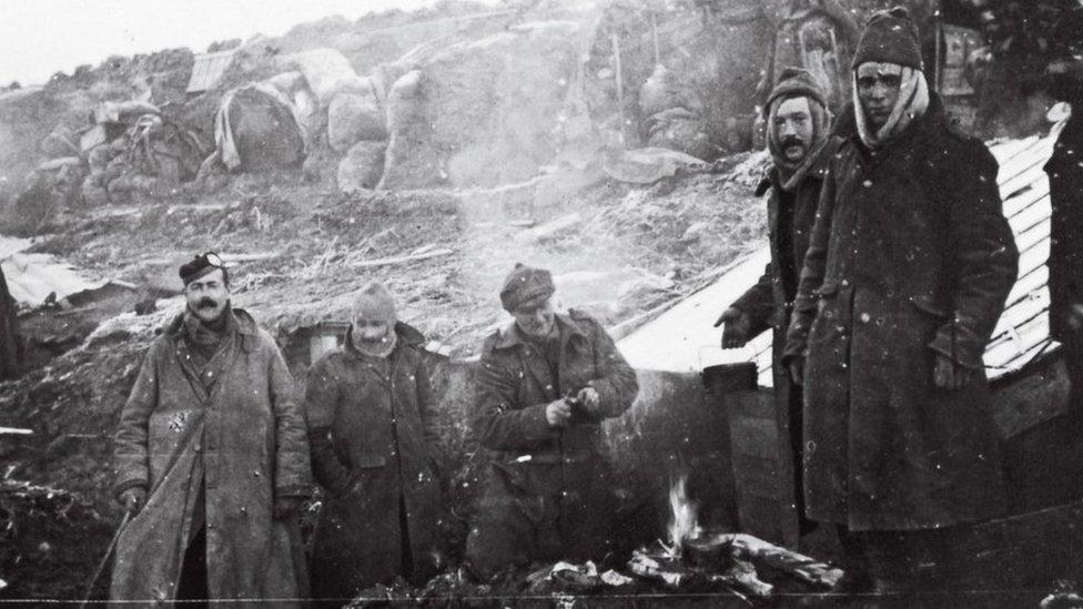 Rare photos show life in Maryhill Barracks during WW1