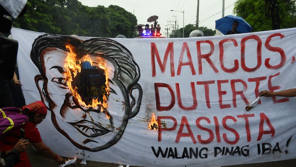 Filipina, Manila, Duterte, Marcos