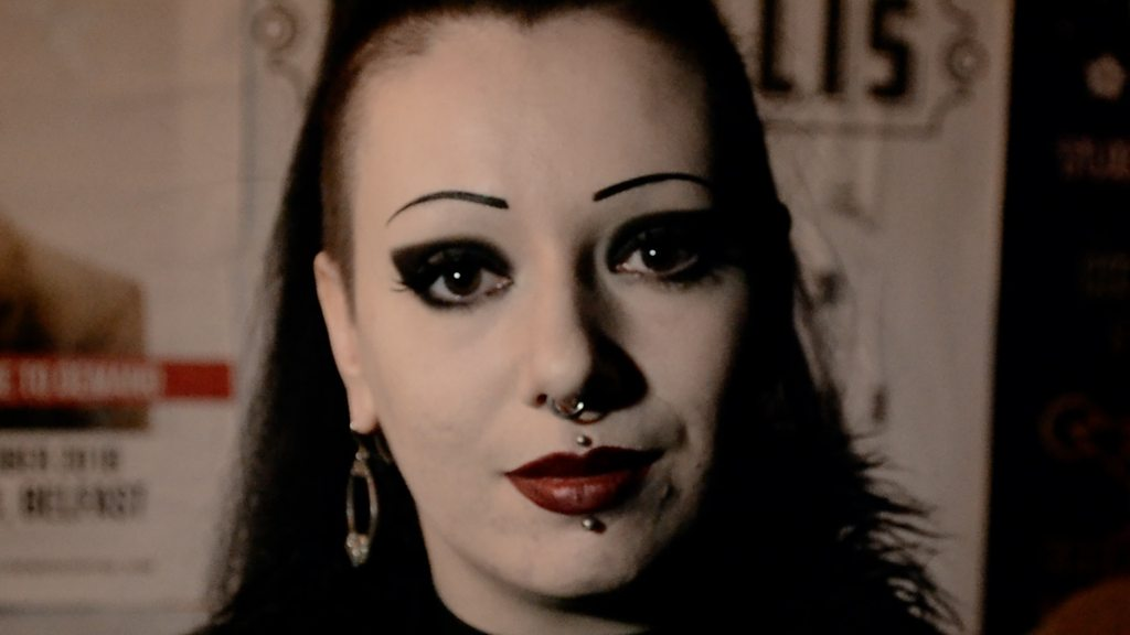 Being a goth is thankfully easier in 2018, says YouTuber Toxic Tears.