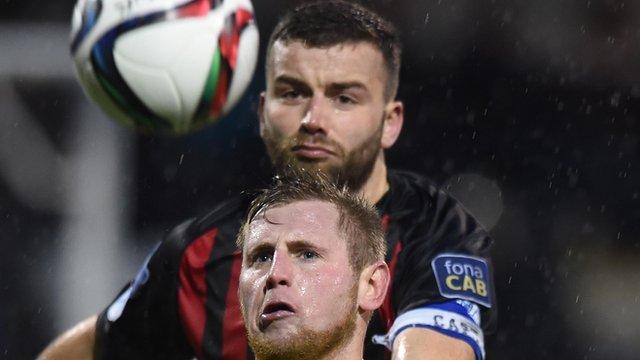 Crusaders beat Ballymena United 3-2 at Seaview