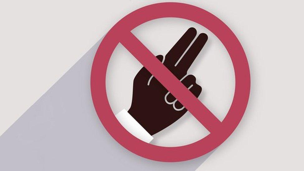 poster Svetske zdrastvene organizacije koji traži zabranu testova nevinosti
