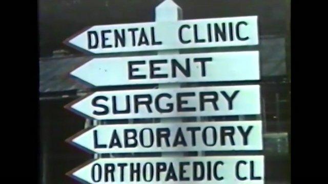 Footage of WWII US Army hospital near Bristol