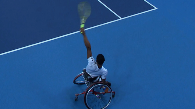 Wheelchair Tennis Masters - Best shots from the finals