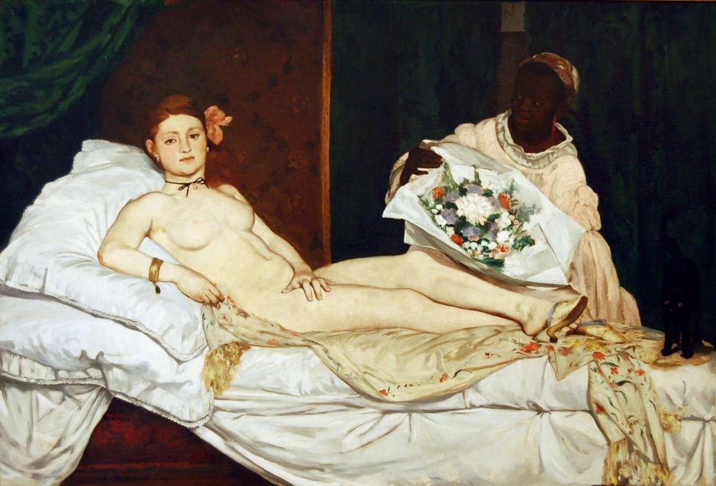 Olimpia de Edouard Manet