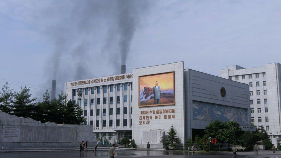 Central en Pyongyang