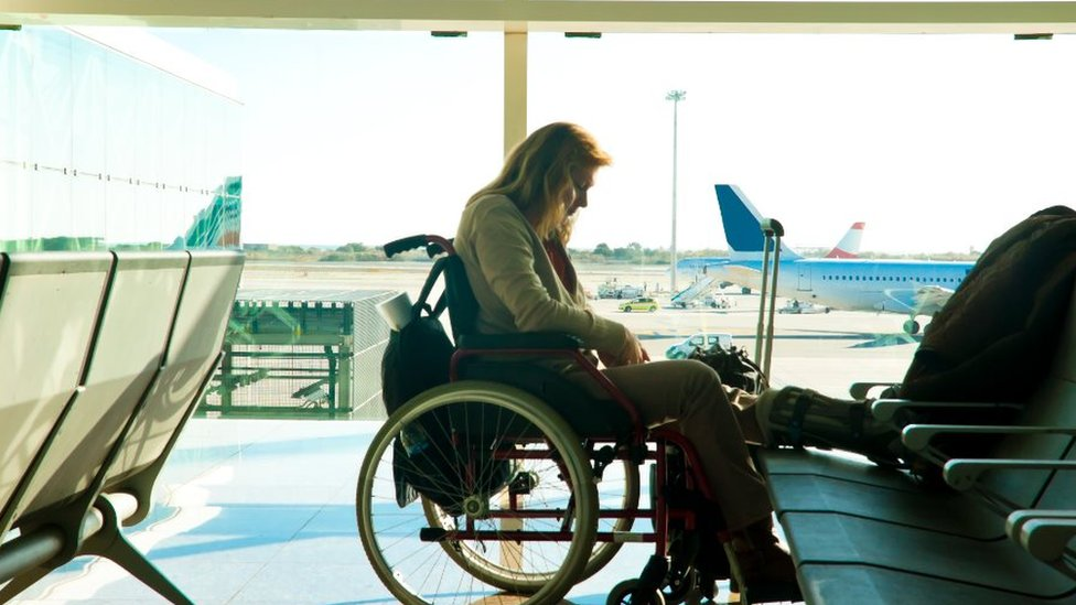 Air travel for disabled passengers 'on the up'