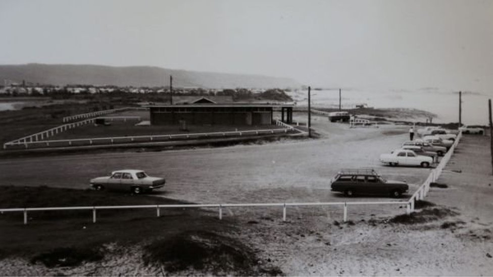 Fairy Meadow Surf Club in the 1970s, when Cheryl Grimmer disappeared