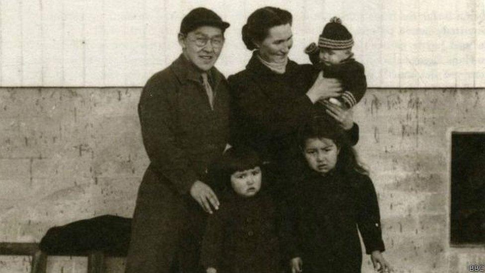 La familia de Helene Thiesen
