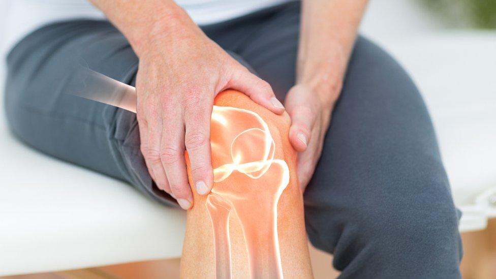 Articulaciones de la rodilla.