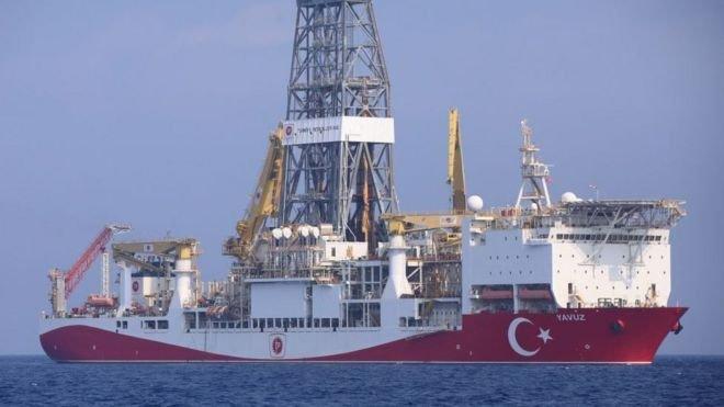 Türkiye'nin sondaj gemisi