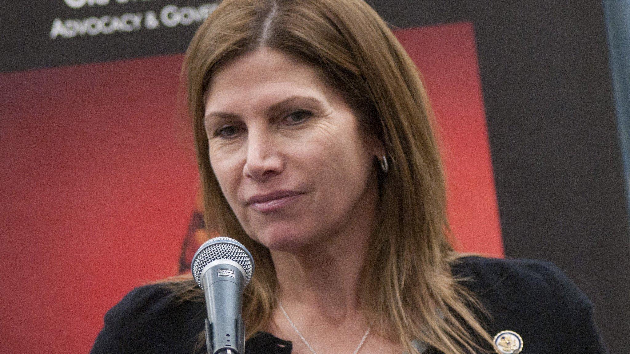 US gymnastics new interim boss Mary Bono 'regrets' anti-Nike tweet
