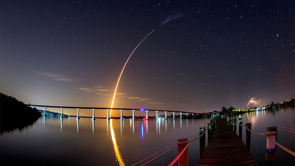 Lanzamiento del Space X