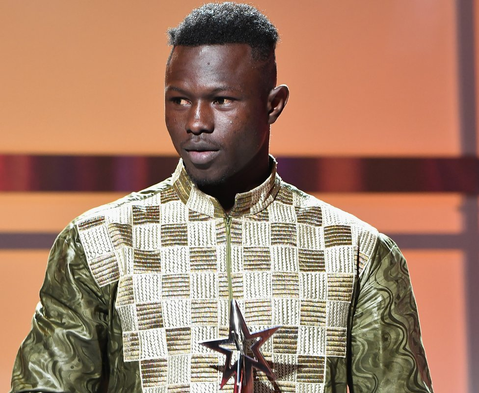 Mamadou Gassama at the BET awards