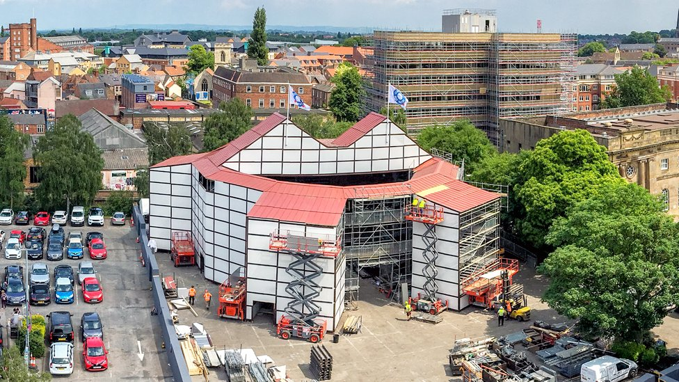 Shakespeare's Rose theatre pops up in York