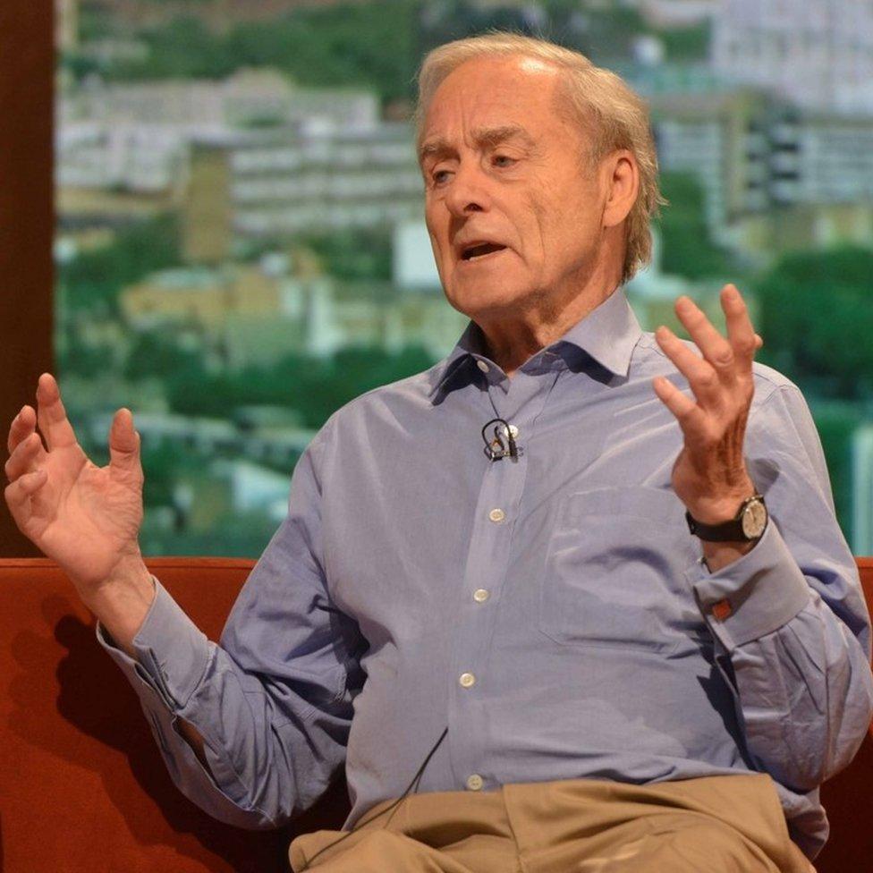 Harold Evans in 2012