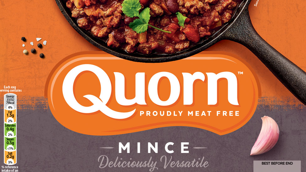 Quorn mince packaging