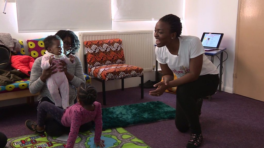 London children learning their mother tongue