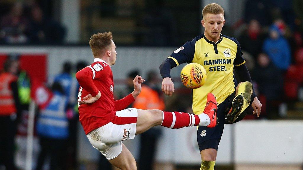 Byron Webster: Carlisle sign former Scunthorpe defender