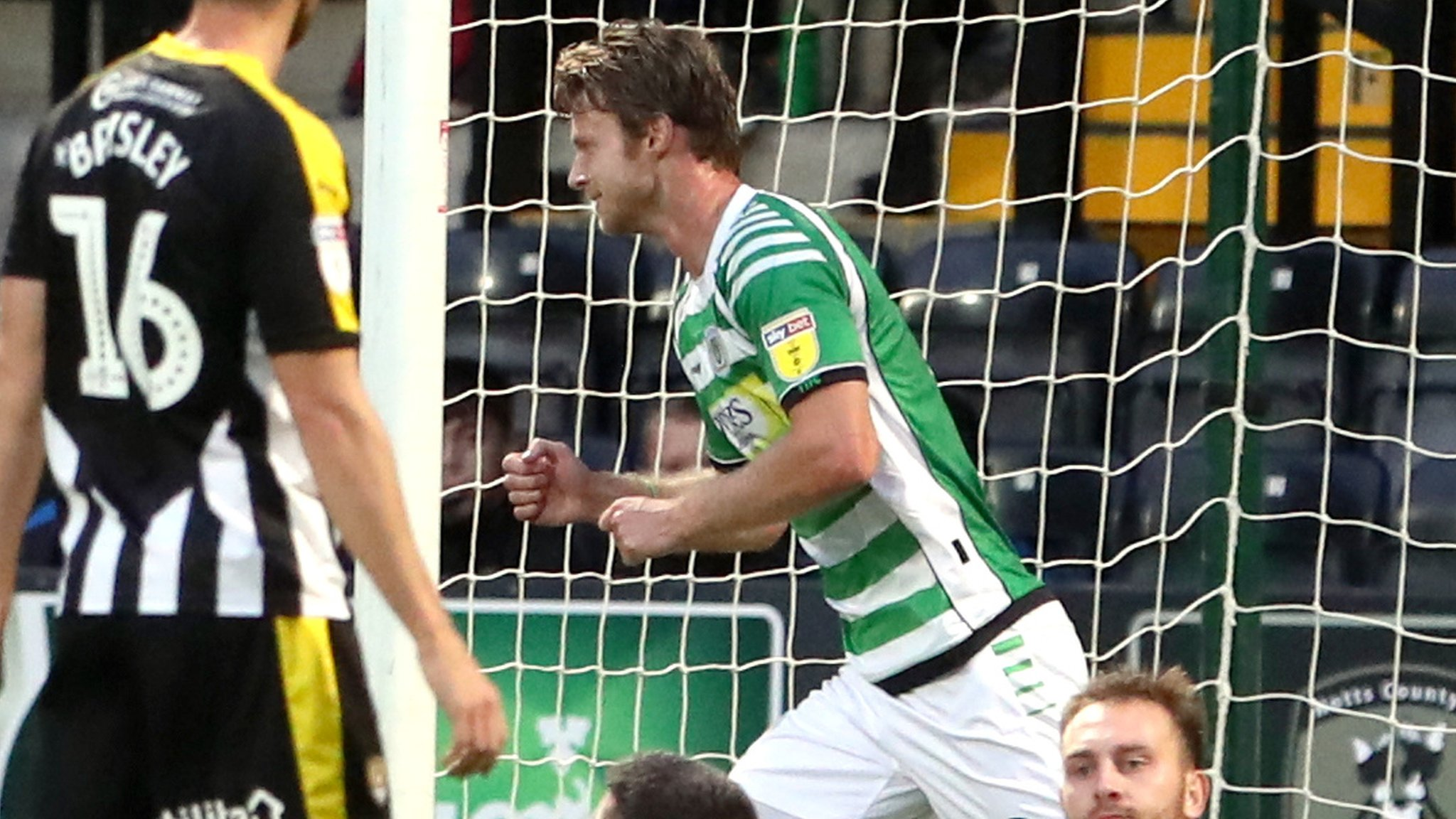 Notts County 0-4 Yeovil Town