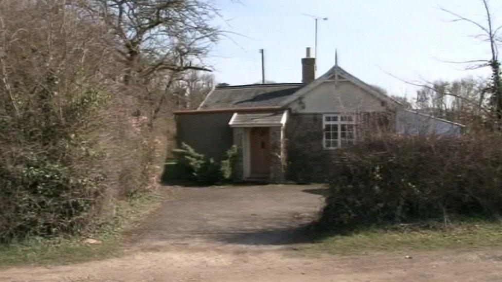 Richard Clarke's house in 2009