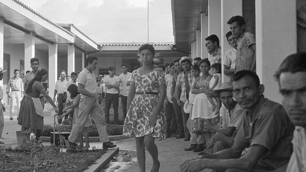 Salvadoreños en Honduras.