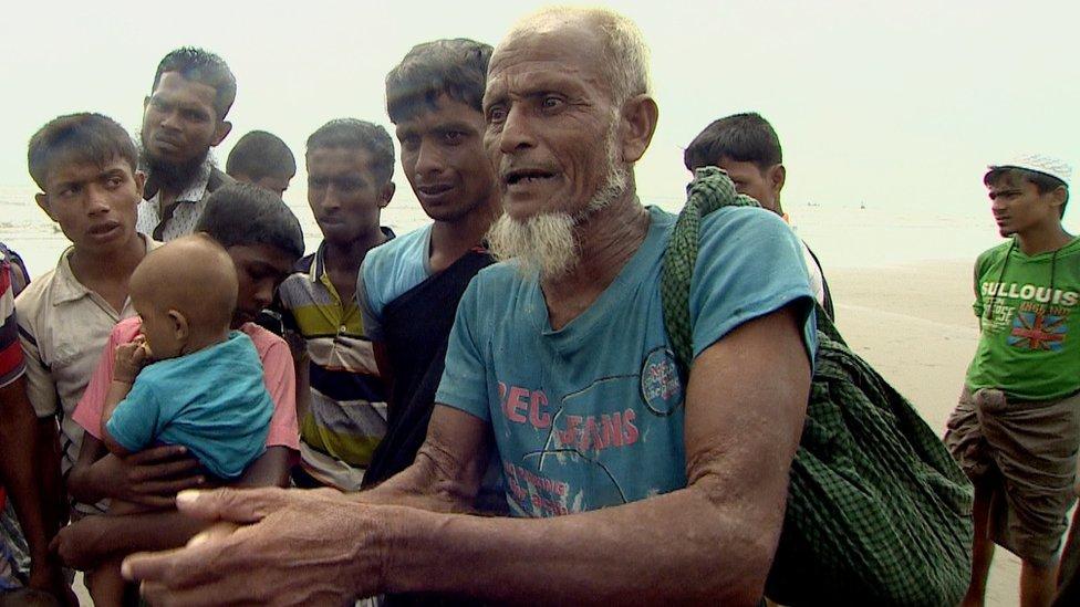 Rohingya man
