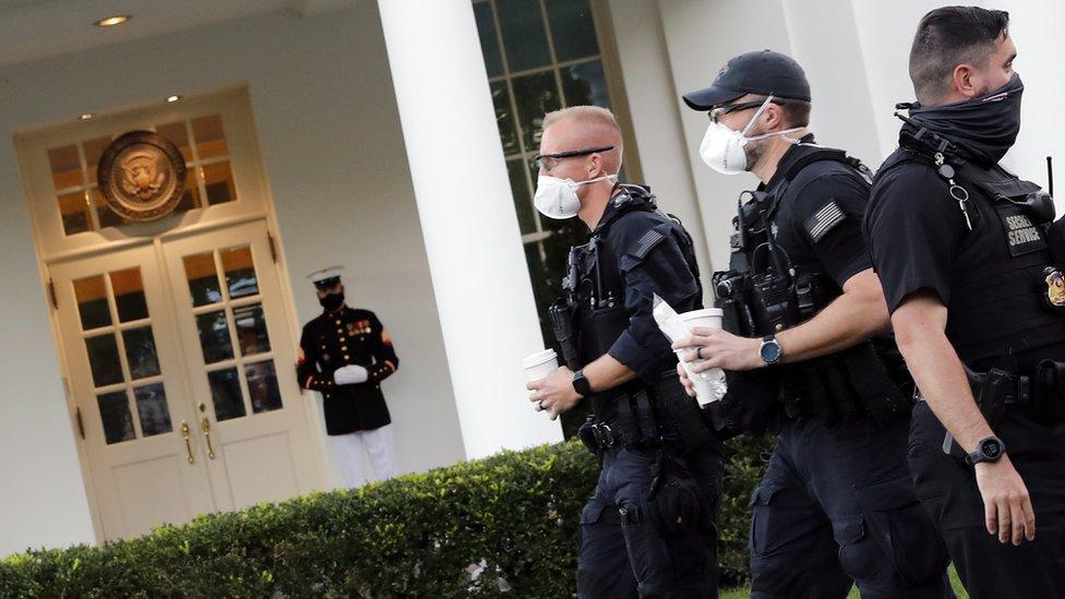 حرس البيت الأبيض